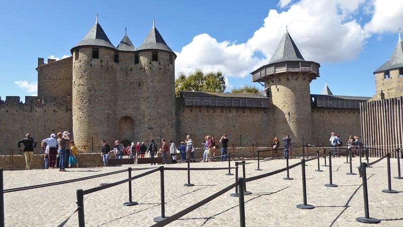 Château Comtal in La Cité de Carcassonne