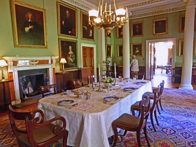 Killerton House Dining Room