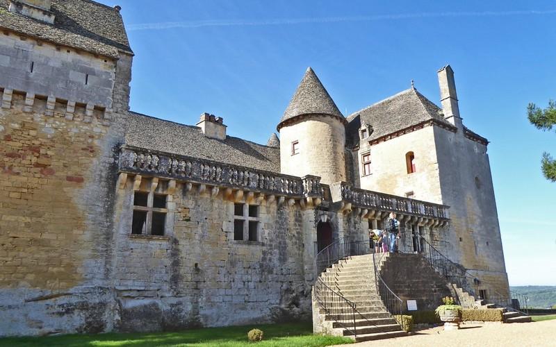 Château de Fénelon - Entrance