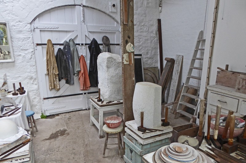 Studio of Barbara Hepworth, British Sculptor