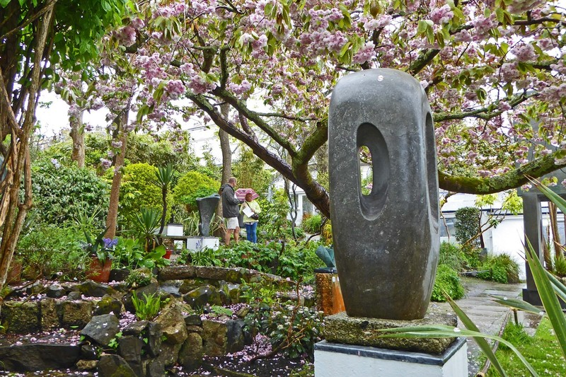 Sculpture Garden at the Barbara Hepworth Museum