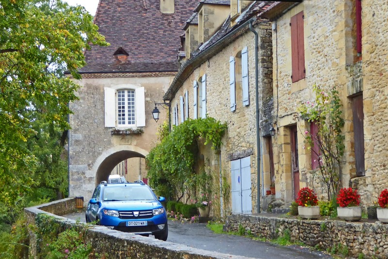 Street above our gite in Limeuil