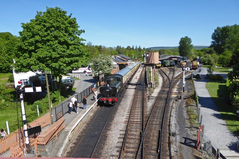 Buckfastleigh Steam Train Station