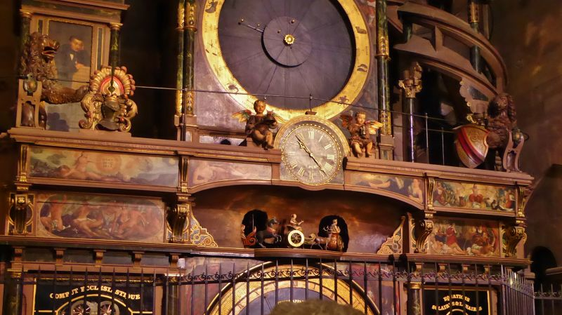 Strasbourg Cathedral Astronomical Clock (detail) - Strasbourg