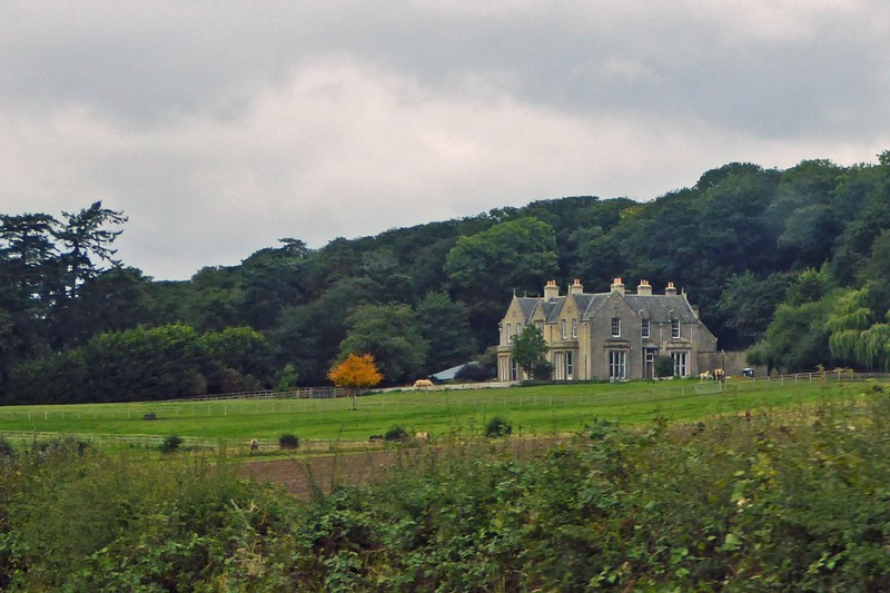 Manor House in the Scottish Borders