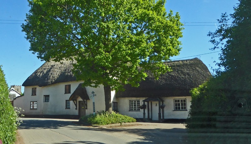 Thatched house in Poltimore