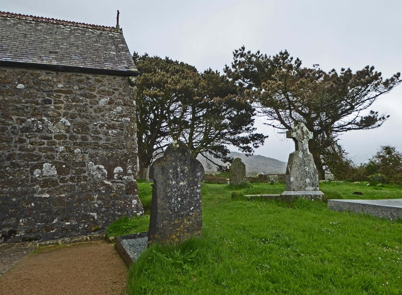 Saint Senara's Church in Zennor