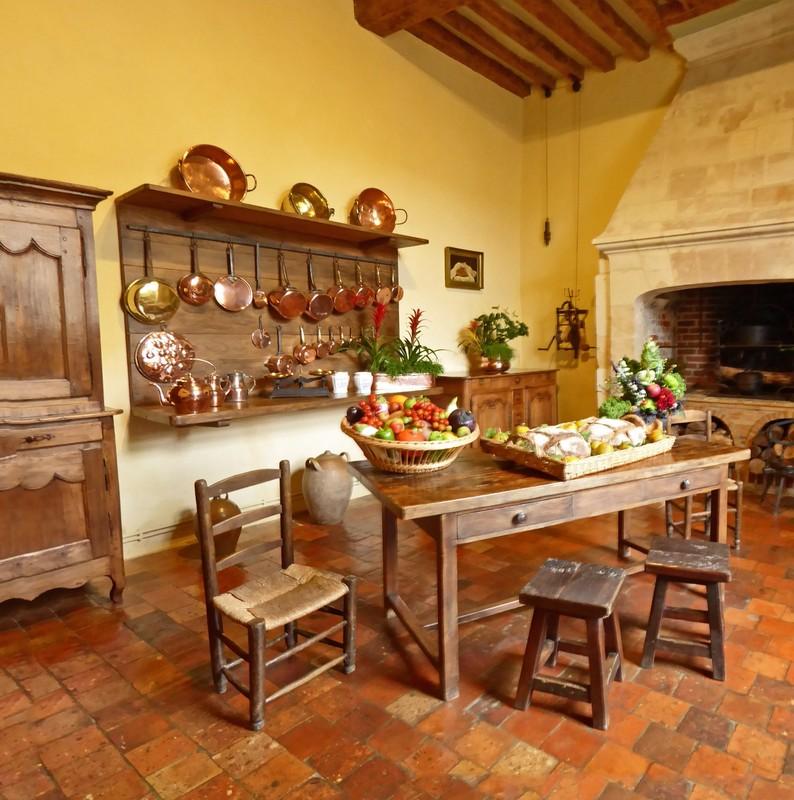 Kitchen in Villandry