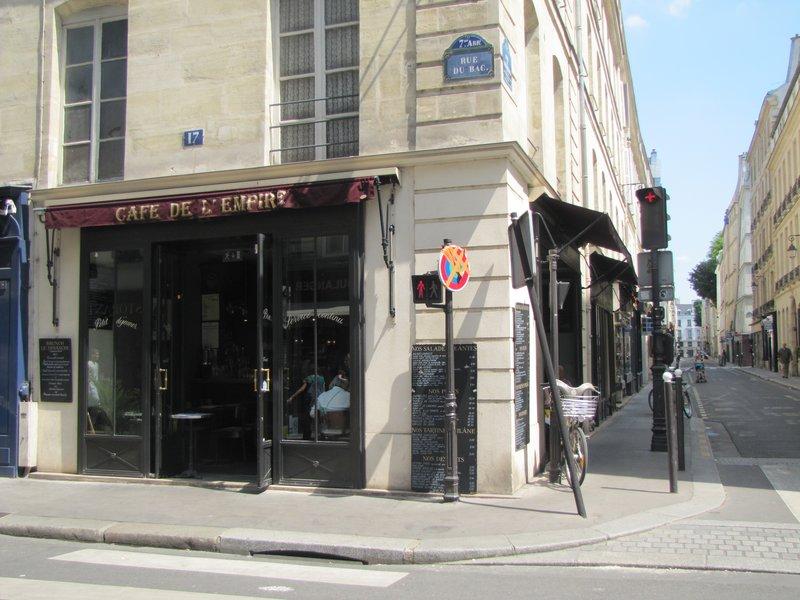 Café de L'Empire in Paris