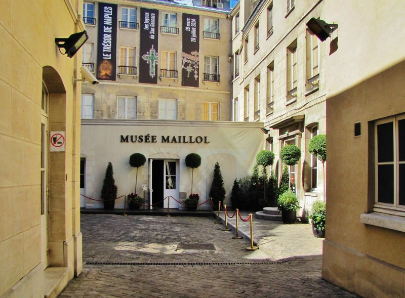 Entrance to the Maillol Museum in Paris