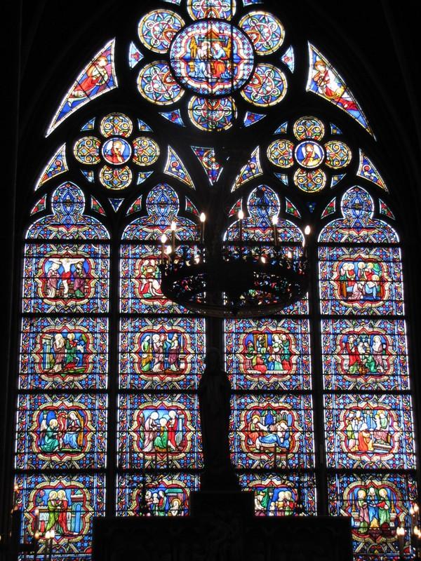 Notre Dame de Paris - Stained Glass