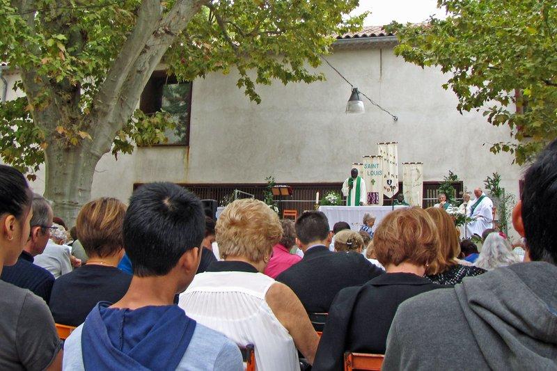 Messe de rentrèe de L'Unitè Pastorale in St. Andiol