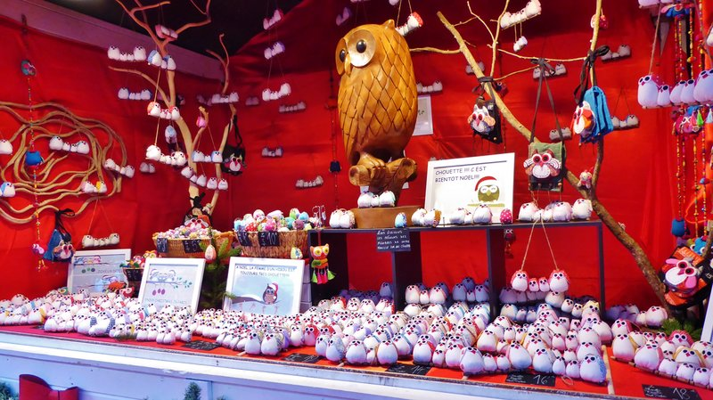 Christmas Owls (Chouettes)