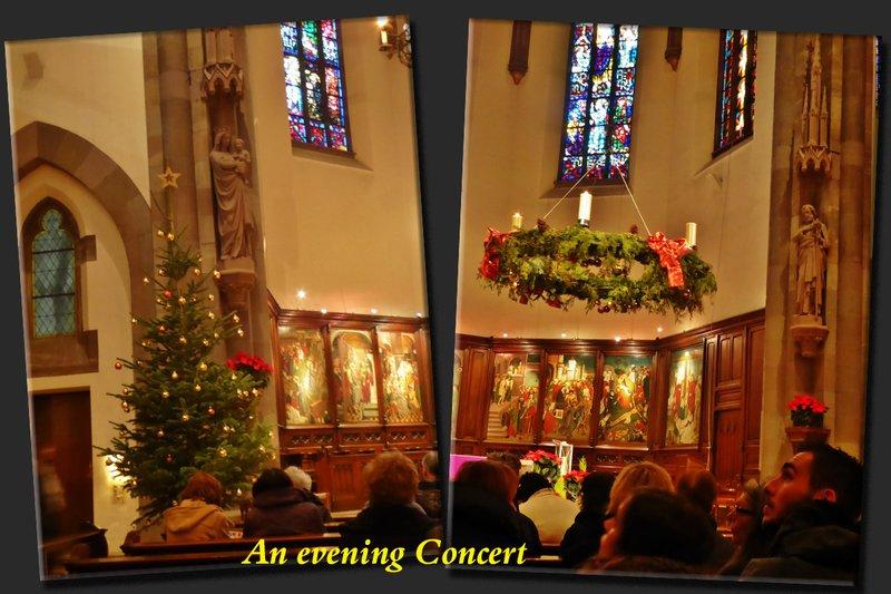 Evening Christmas Concert at Église Catholique Saint-Pierre Le Vieux