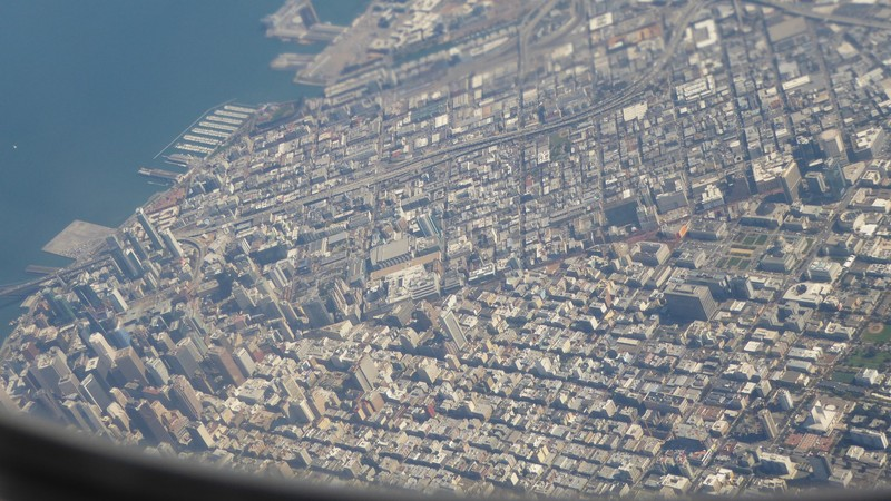 San Francisco Fly-over