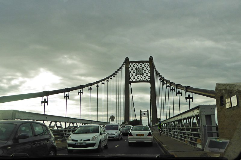Crossing the Loire at Ancenis