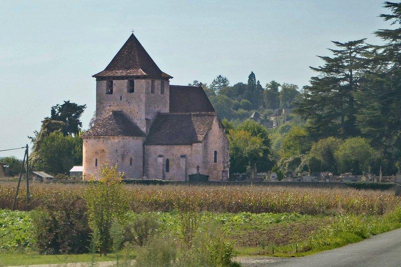 Chapelle Saint-Martin outside Limeuil