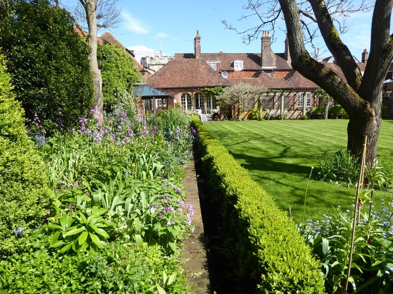 Mompesson House garden and tea room