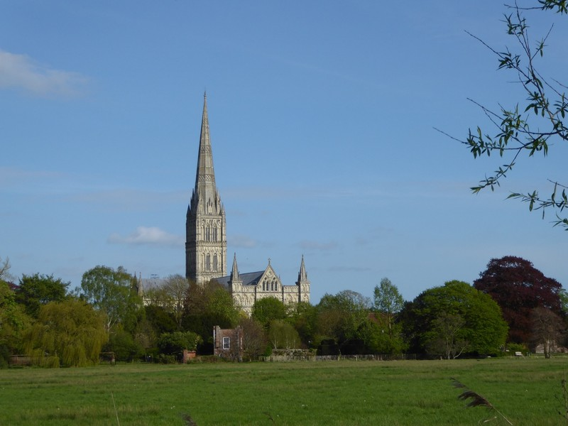 Salisbury Cathedral from the Harnham Water Meadows