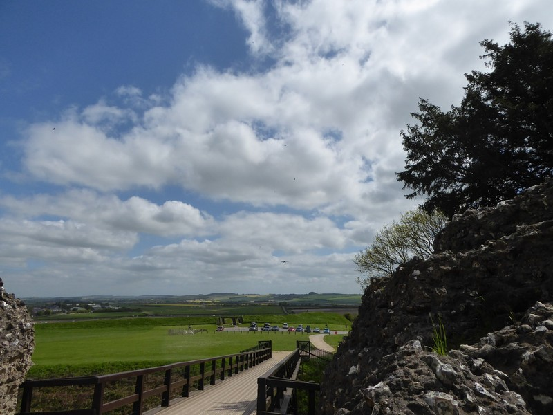 From the Entrance to Old Sarum.