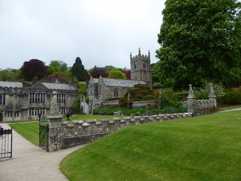 Saint Hydroc Church beside Lanhydrock House