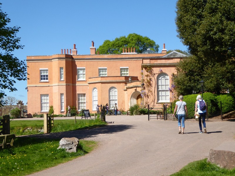 Killerton House Entrance