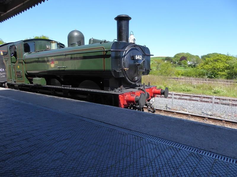 South Devon Railway Steam Engine