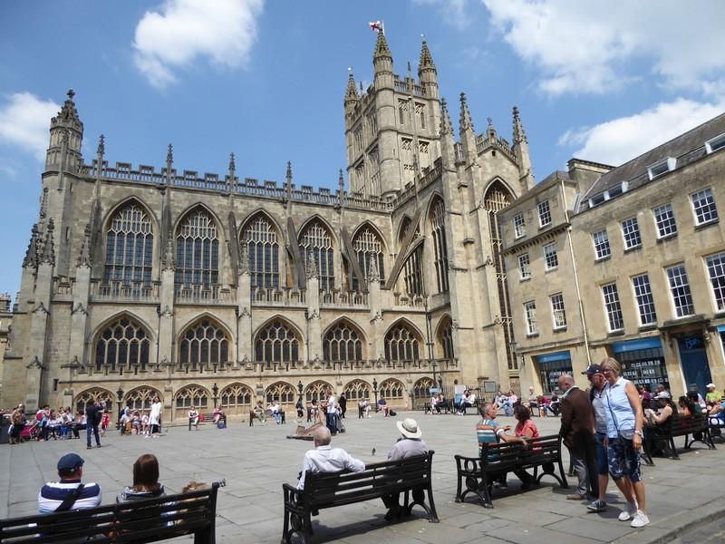 Bath Abbey from Kingston Parade