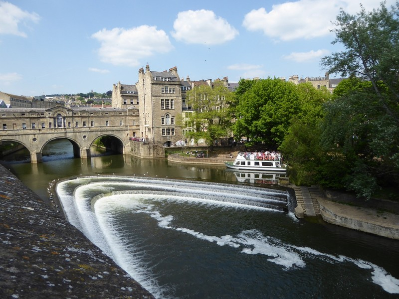 Pulteney Weir and Pulteney Bridge