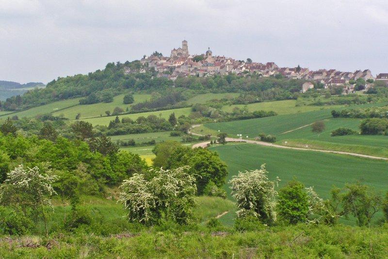 Vezelay in Burgundy, France
