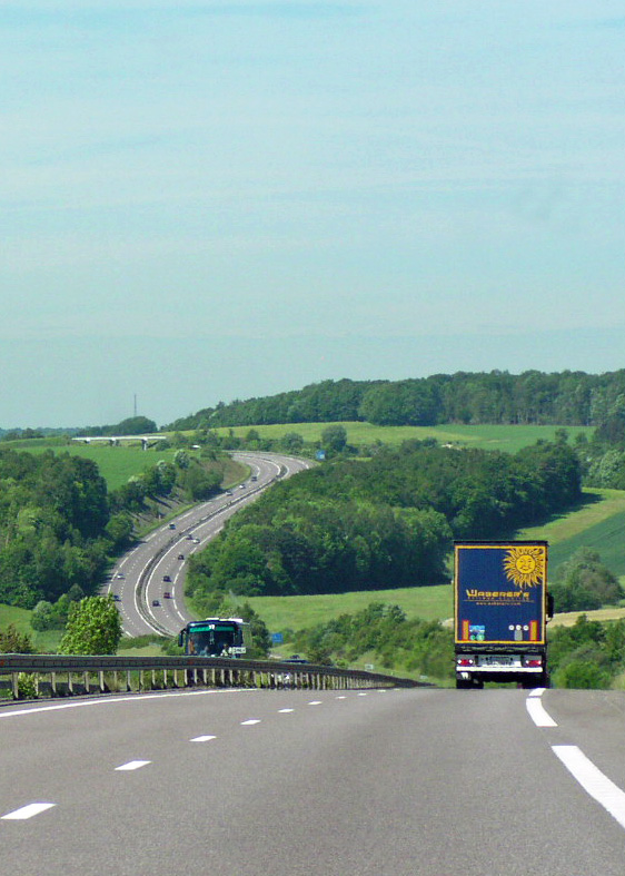 Driving from Alsace to Reims on the A4