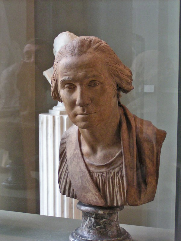 2003 photo of my favorite bust of George Washington in the Louvre