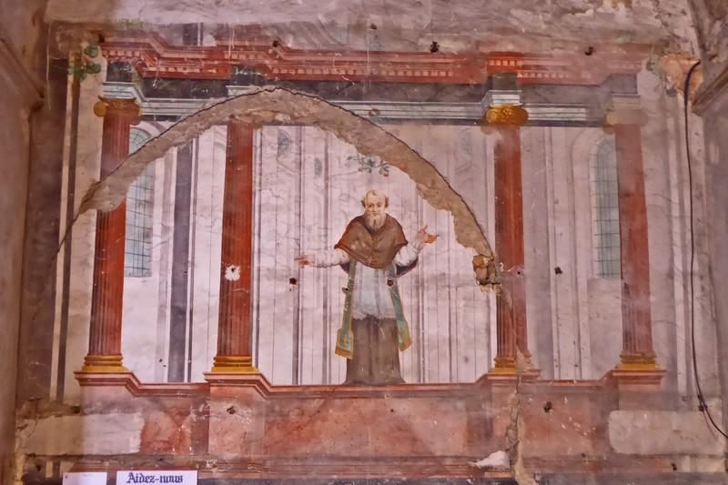 Fresco in Eglise Notre-Dame-de-l'Assomption