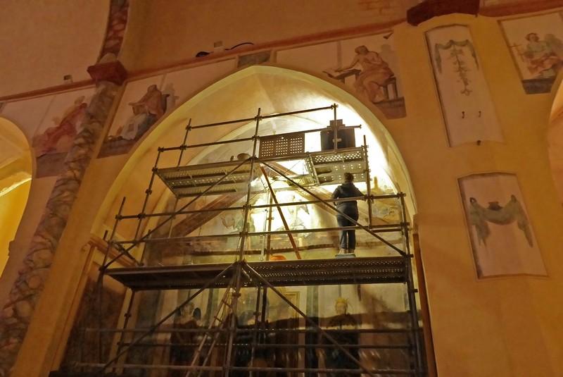 Frescoes in Eglise Notre-Dame-de-l'Assomption