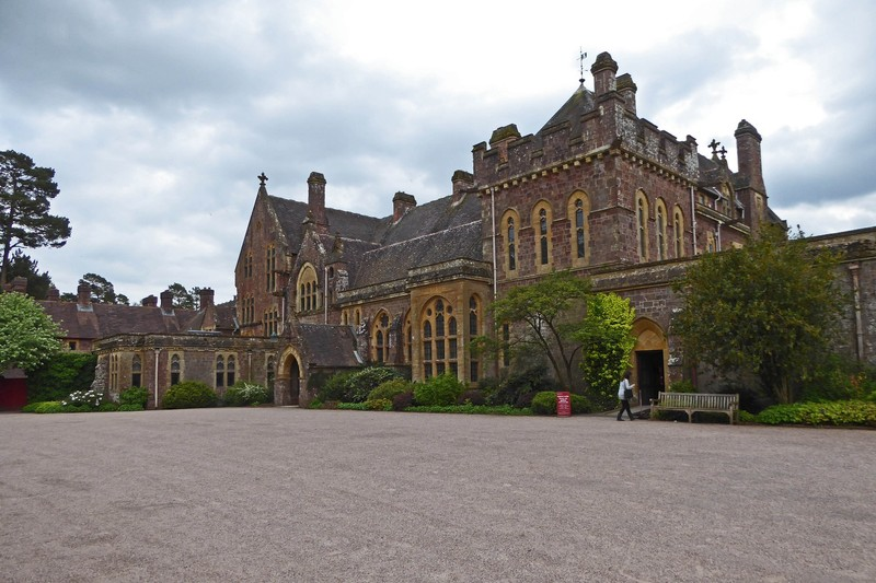 Knightshayes Court - Entrance Courtyard