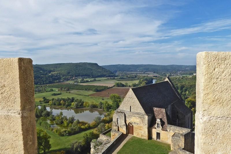 View from Château de Beynac