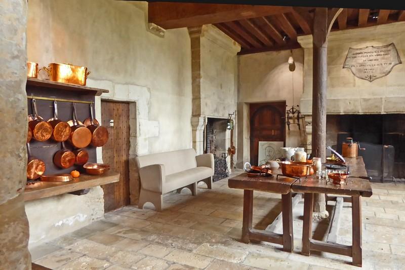 Kitchen at Château de Beauregard