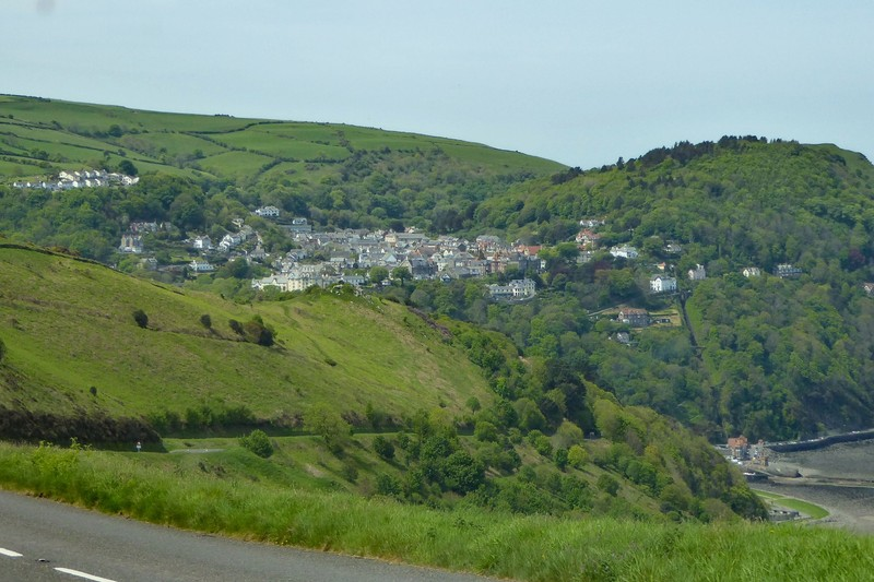 Lynton from Countisbury Hill