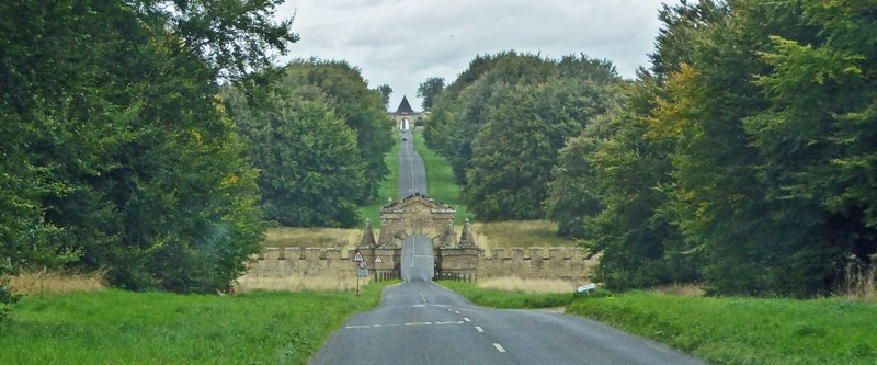 Entrance to Castle Howard