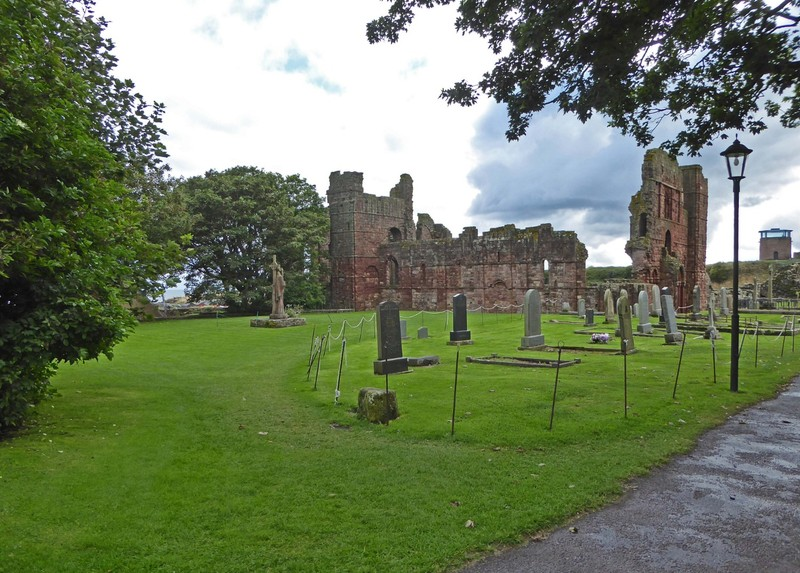Entry to The Priory on Lindisfarne (Holy Island)