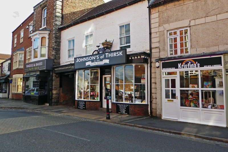 Butcher shop in Thirsk near the James Herriot Museum