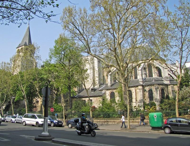 Eglise Saint-Germain-des-Près in Paris