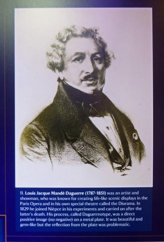 Louis-Jacques-Mandé Daguerre inventor of Daguerreotype photography