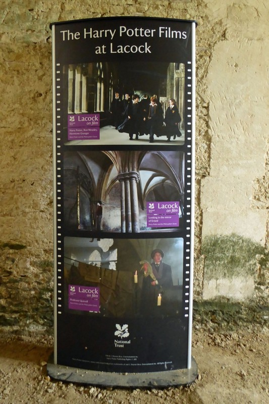 Harry Potter Information at Lacock Abbey