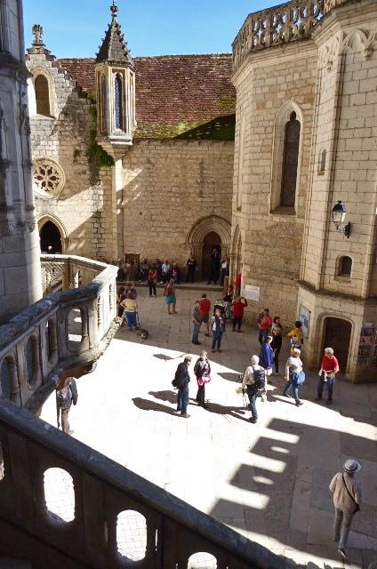 Rocamadour Courtyard