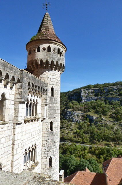 The Episcopal Palace at Rocamadour