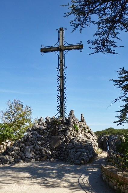 The Cross of Jerusalem at Rocamadour