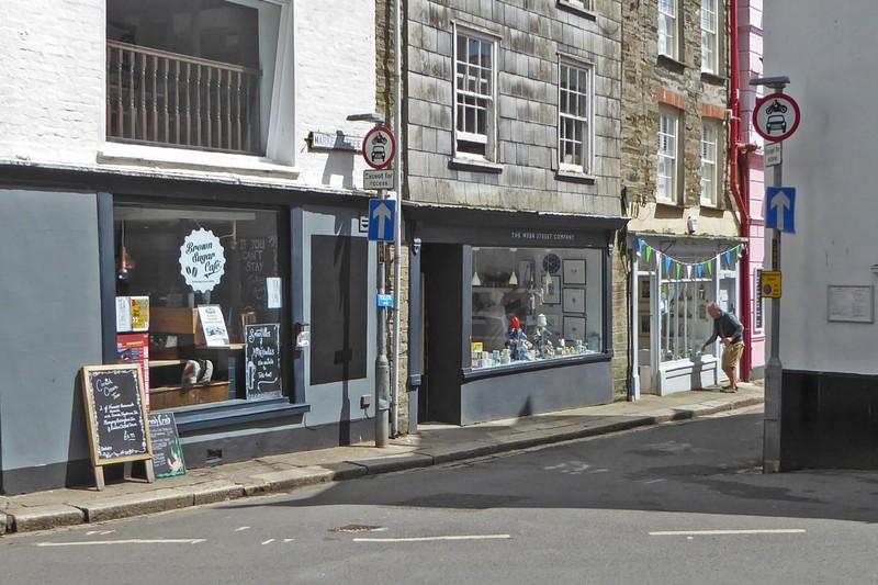 Brown Sugar Cafe in Fowey, Cornwall