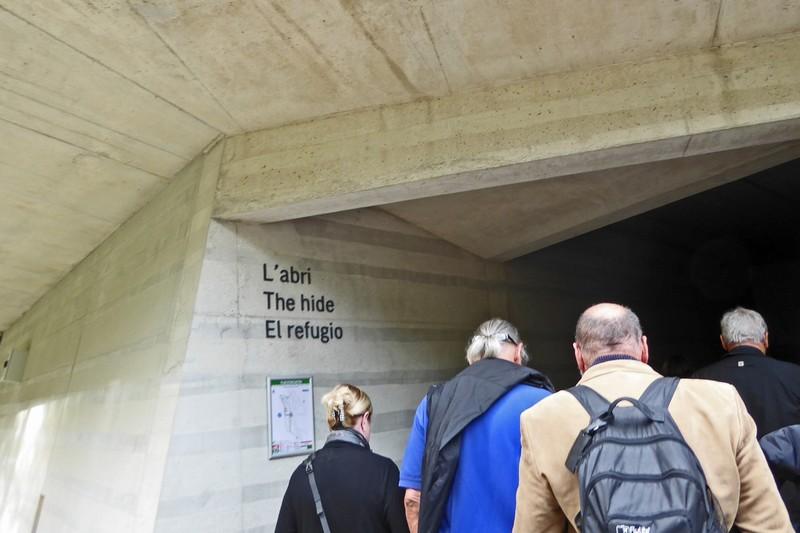 The Abri (shelter) entrance to Lascaux Centre International de l'Art Pariétal (Lascaux IV)
