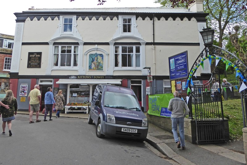 Kittow's Butcher and Deli in Fowey, Cornwall